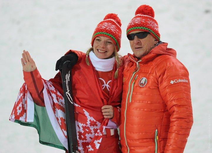 Анна Гуськова и тренер Козеко