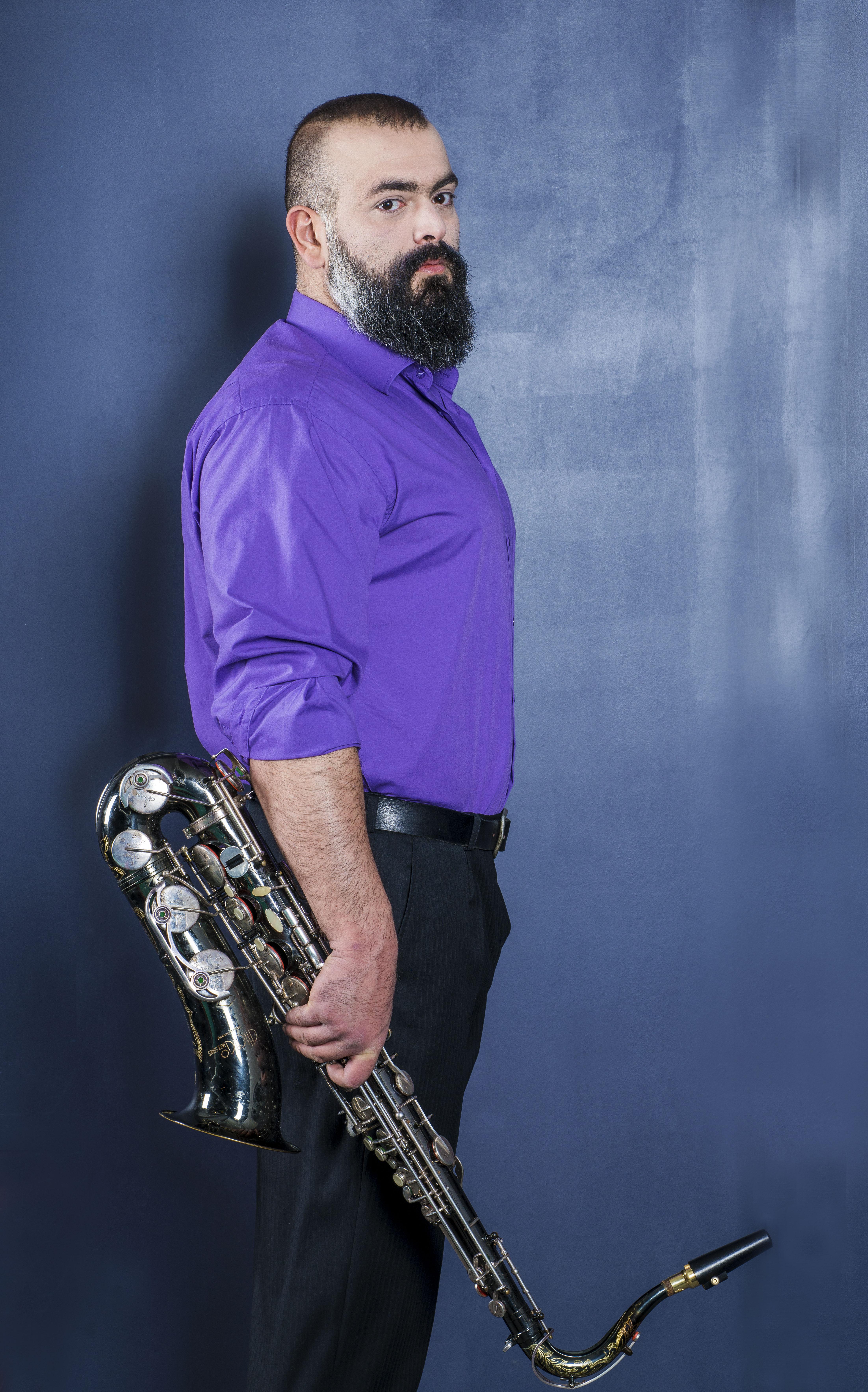 Павел Аракелян саксофон