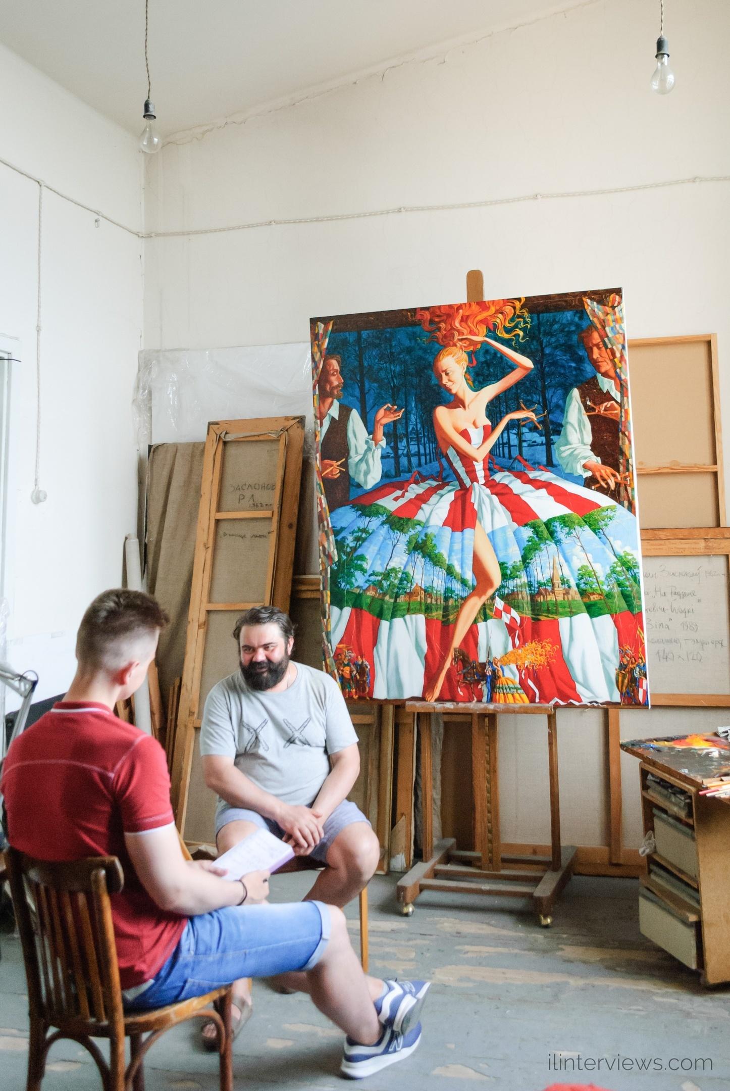 Роман Заслонов интервью
