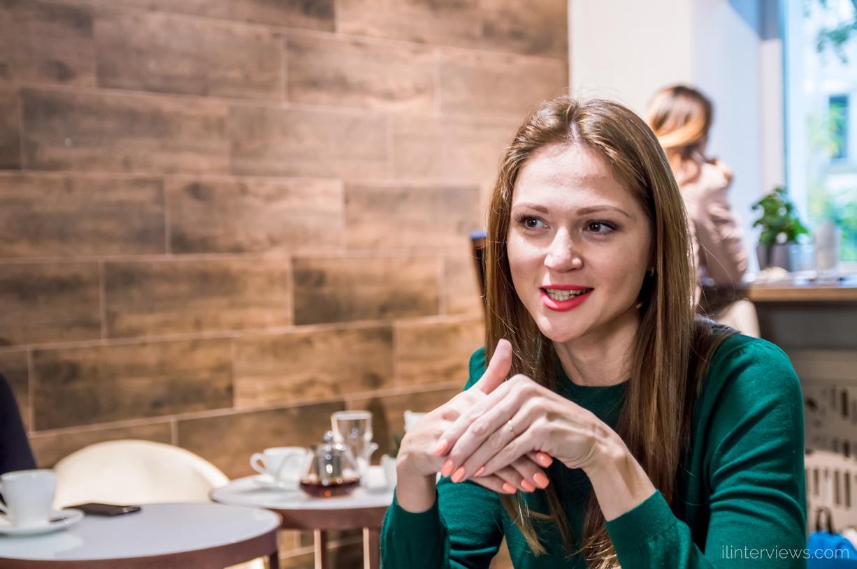Александра Герасименя ilinterviews